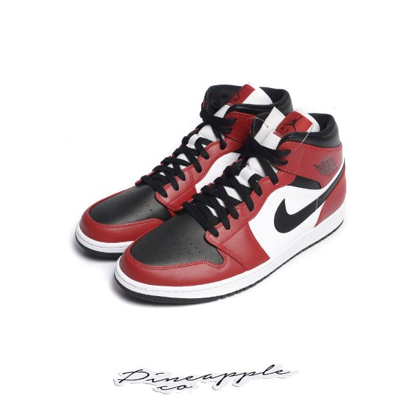 "NIKE - Air Jordan 1 Mid ""Chicago Black Toe"" -NOVO-"