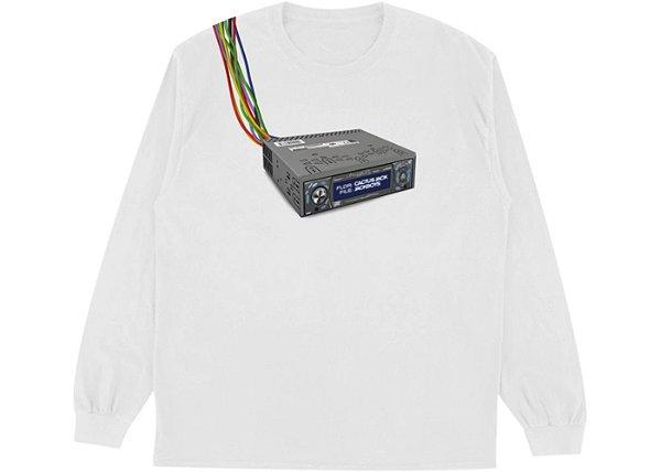 "!TRAVIS SCOTT - Camiseta Manga Longa Jackboys Cord Cutters ""Branco"" -NOVO-"