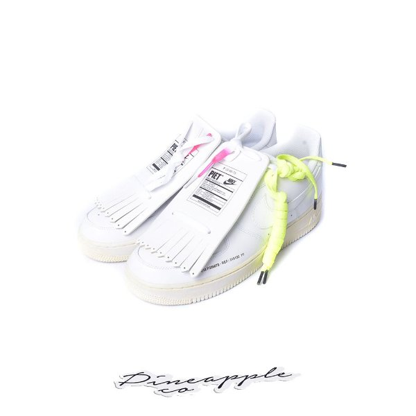 "NIKE x PIET - Air Force 1 Low Old Golf Shoes ""White"" -NOVO-"