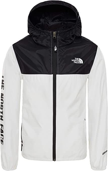 "THE NORTH FACE - Jaqueta Windbreaker ""Preto/Branco"" (Infantil) -NOVO-"