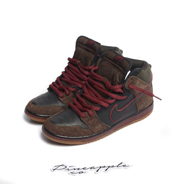"NIKE x BROOKLYN PROJECTS - SB Dunk High ""Reign In Blood"" -USADO-"