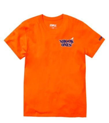 "STAPLE X MOBB DEEP - Camiseta Shook Ones ""Laranja"" -NOVO-"