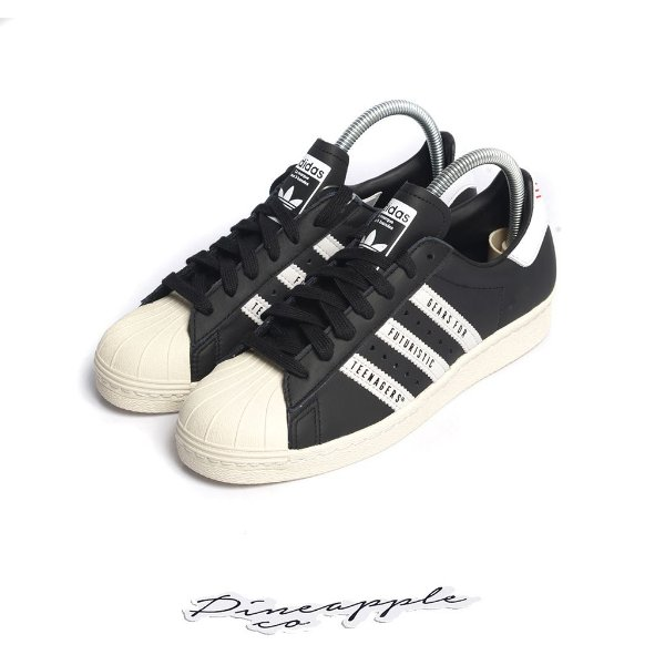 "ADIDAS x HUMAN MADE - Superstar ""Black"" -NOVO-"