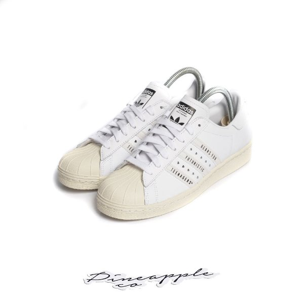 "ADIDAS x HUMAN MADE - Superstar ""White"" -NOVO-"