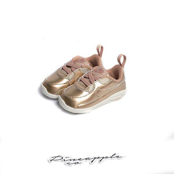 """Nike Air Max 90 """"Metallic Rose Gold"""" (2020) (Infantil) -NOVO-"""