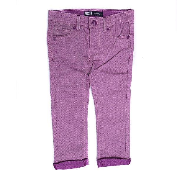 "LEVI'S - Calça Jeans ""Roxo"" (Infantil) -NOVO-"