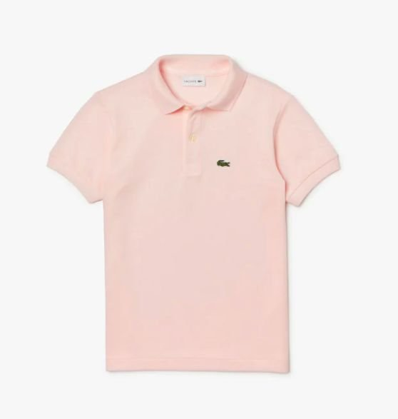 "LACOSTE - Camisa Polo Classic Piqué ""Light Pink"" (Infanti)"