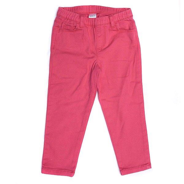 "CARTER'S - Calça Jeans Legging ""Rosa"" (Infantil) -NOVO-"