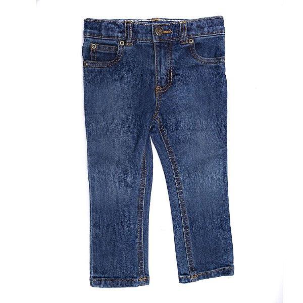 """CARTER'S - Calça Jeans Skinny """"Heritage Rinse Wash"""" (Infantil) -NOVO-"""