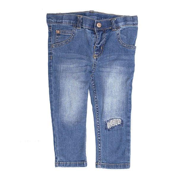 """CARTER'S - Calça Jeans Skinny """"Indigo Bright Wash"""" (Infantil) -NOVO-"""
