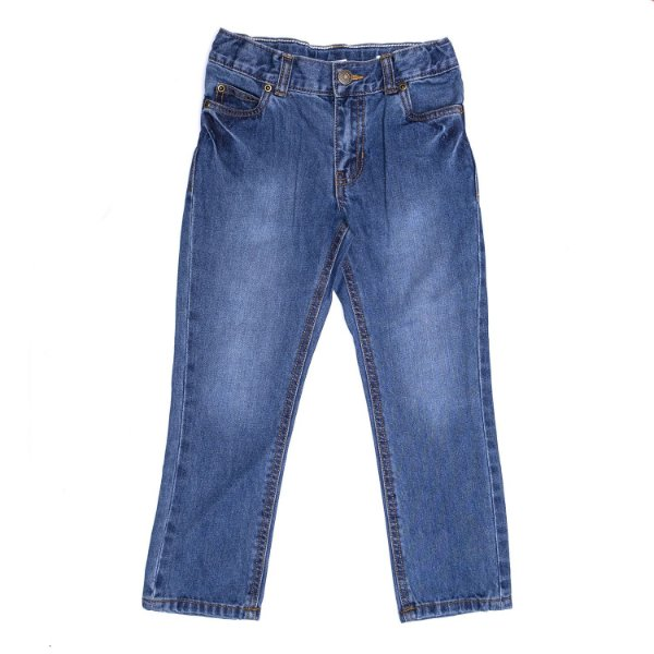 "CARTER'S - Calça Jeans Straight ""Anchor Dark Wash"" (Infantil) -NOVO-"