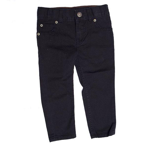 """CARTER'S - Calça Jeans Straight """"Preto"""" (Infantil) -NOVO-"""