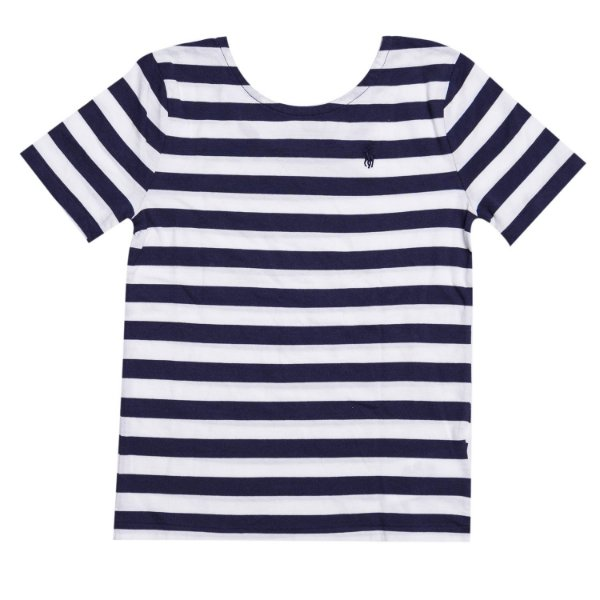 "POLO RALPH LAUREN - Camiseta Stripe ""Marinho"" (Infantil) -NOVO-"