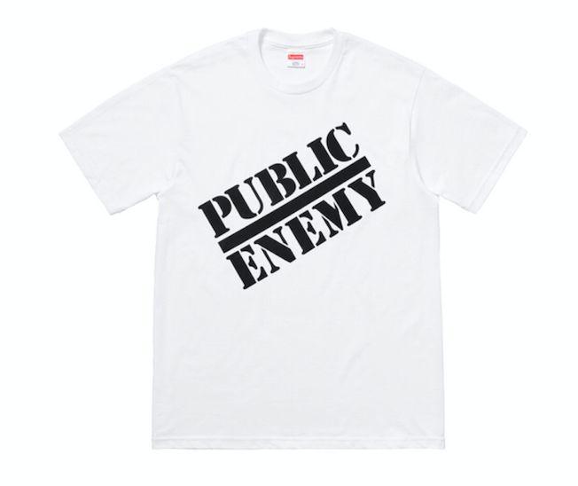 "SUPREME x UNDERCOVER/PUBLIC ENEMY - Camiseta Blow Your Mind ""White"""