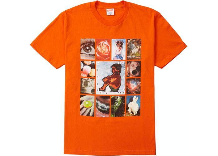 """SUPREME - Camiseta Original Sin """"Laranja"""" -NOVO-"""