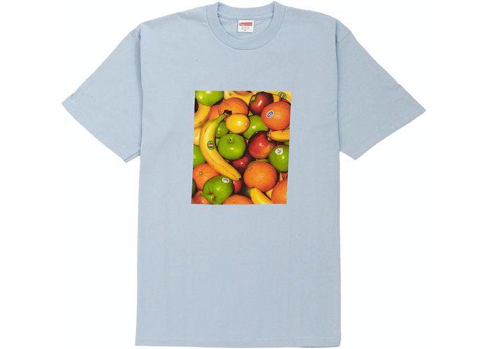 "SUPREME - Camiseta Fruit ""Light Blue"""