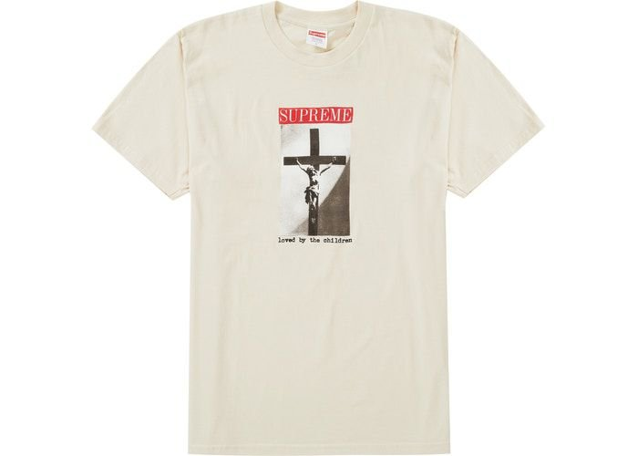 "SUPREME - Camiseta Loved By The Children ""Natural"""