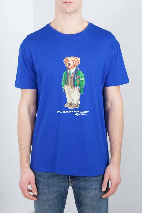"POLO RALPH LAUREN - Camiseta Polo Bear Classic Fit ""Azul"" -NOVO-"