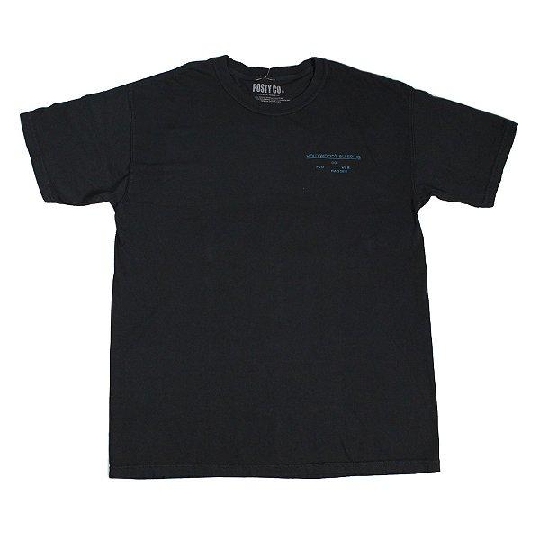 "POST CO. - Camiseta Post Malone Merch Hollywood's Bleeding ""Preto"" -NOVO-"
