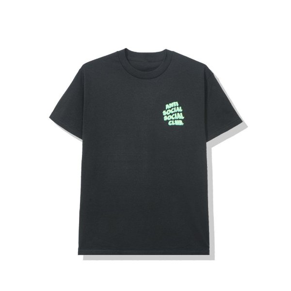 "ANTI SOCIAL SOCIAL CLUB - Camiseta Popcorn ""Preto"" -NOVO-"