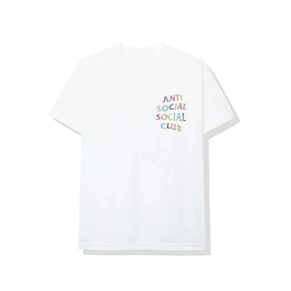 """!ANTI SOCIAL SOCIAL CLUB - Camiseta NT """"Branco"""" -NOVO-"""