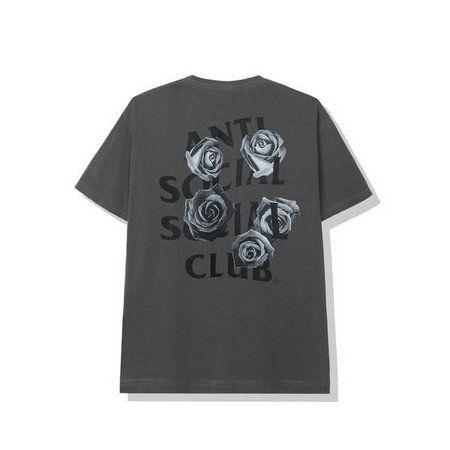 "ANTI SOCIAL SOCIAL CLUB - Camiseta Bat Emoji ""Grafite"" -NOVO-"
