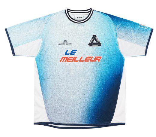 "PALACE - Camiseta Multi Option Footie Jersey ""Azul"" -NOVO-"