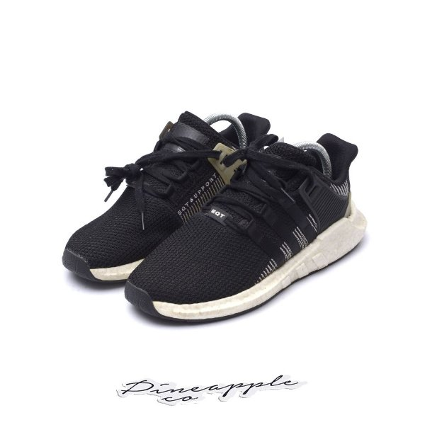 "ADIDAS - EQT Support 93/17 ""Black/White"" -USADO-"
