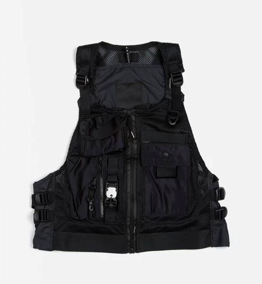 "NIKE x MMW - Colete Beryllium Utility Vest ""Preto"" -NOVO-"