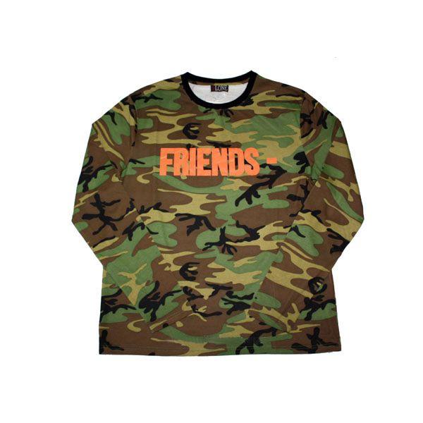 "VLONE - Camiseta Friends Pop Up Los Angeles (2016) ""Verde"" -NOVO-"