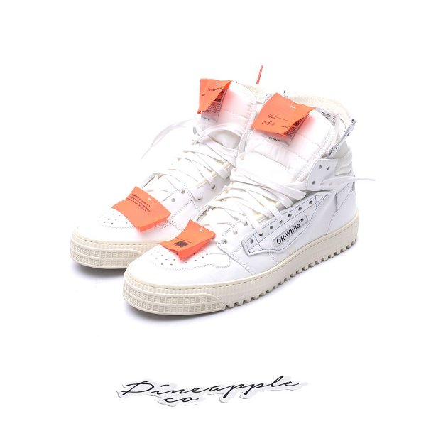 "OFF-WHITE - Low 3.0 ""White"" -USADO-"