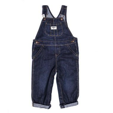 "MINI PINEAPPLE - Jardineira Jeans Glitter ""Azul"" (Infantil) -NOVO-"