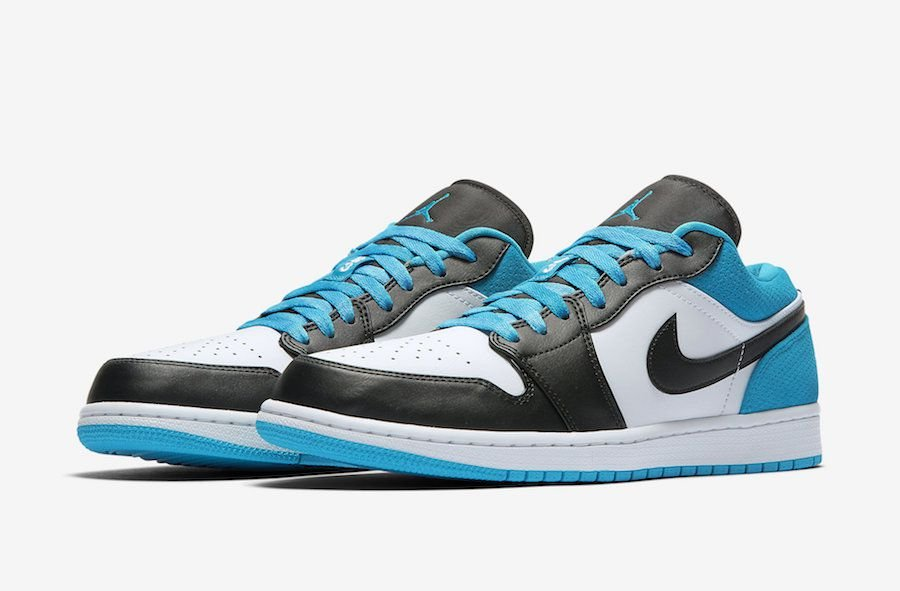 "NIKE - Air Jordan 1 Low ""Laser Blue"" -NOVO-"