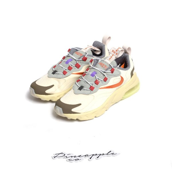 "NIKE x Travis Scott - Air Max 270 React PS ""Cactus Trails"" (28,5 BR / 12c US) (Infantil) -NOVO-"