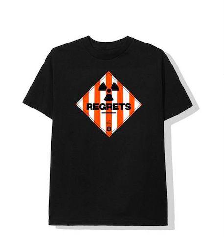 "ANTI SOCIAL SOCIAL CLUB - Camiseta Regrets ""Preto"" -NOVO-"