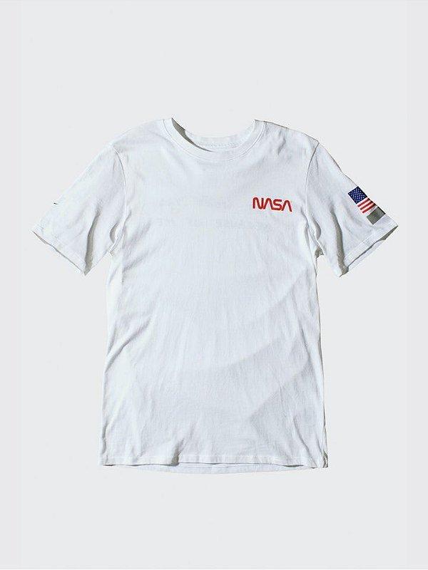 """NIKE x TOM SACHS - Camiseta Nasa """"Branco"""" (Edição Especial de Lançamento) -NOVO-"""