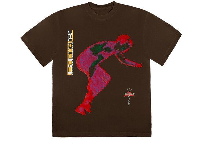 "TRAVIS SCOTT - Camiseta Digital ""Marrom"" -NOVO-"
