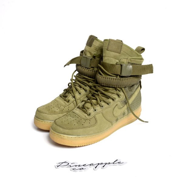 "NIKE - Air Force 1 Special Field ""Faded Olive"" -USADO-"