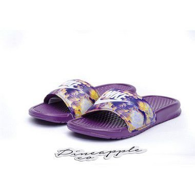 "NIKE - Chinelo Benassi JDI Print ""Purple"" -NOVO-"