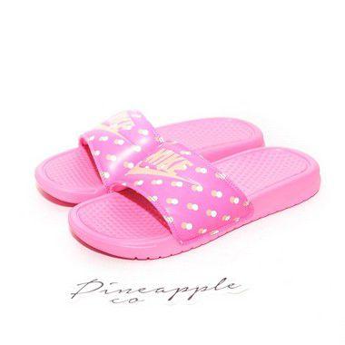 """NIKE - Chinelo Benassi JDI Print """"Pink"""" -NOVO-"""