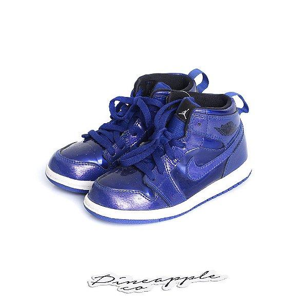 "NIKE - Air Jordan 1 Retro ""Deep Royal Blue"" (Infantil) -USADO-"