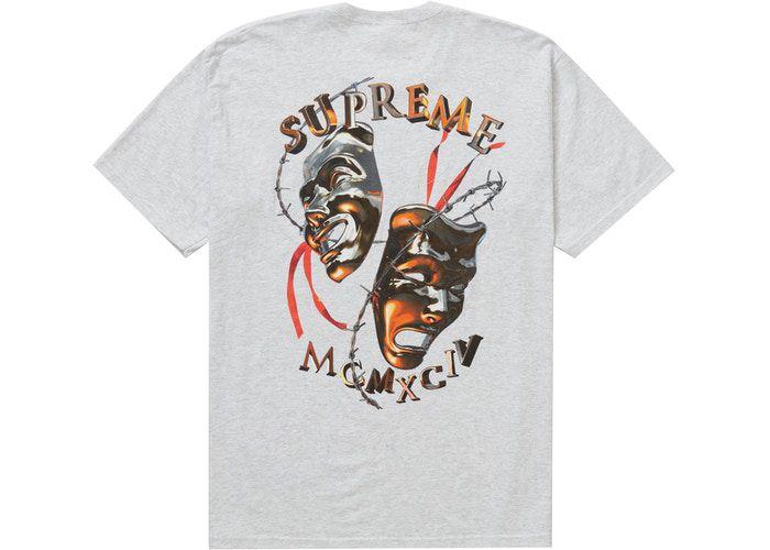 "SUPREME - Camiseta Laugh Now ""Cinza"" -NOVO-"