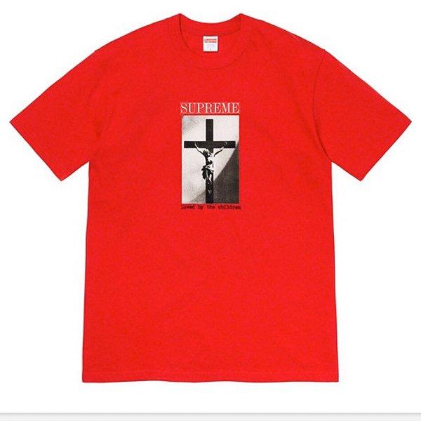 "SUPREME - Camiseta Loved By The Children ""Vermelho"" -NOVO-"
