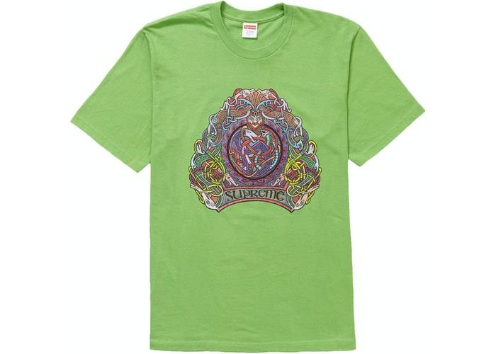 "SUPREME - Camiseta Knot ""Verde"" -NOVO-"