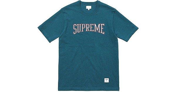 "SUPREME - Camiseta Dotted Arc ""Azul"" -NOVO-"