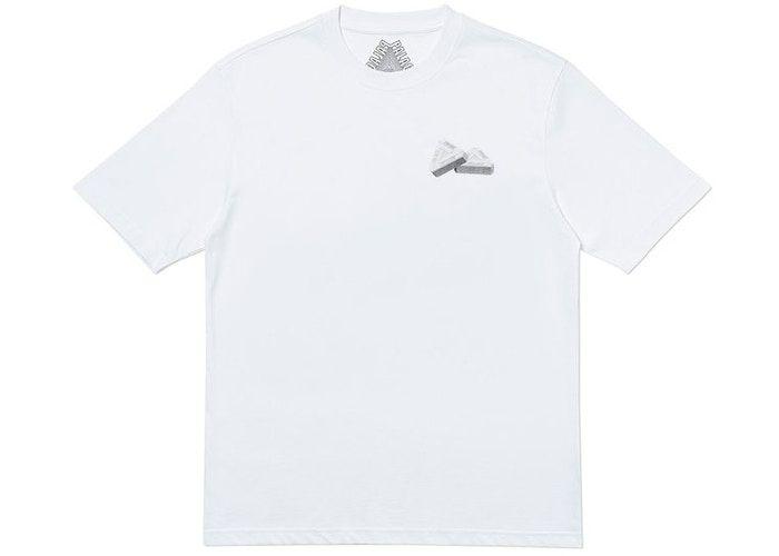 "PALACE - Camiseta Tri-Gaine ""Branco"" -NOVO-"