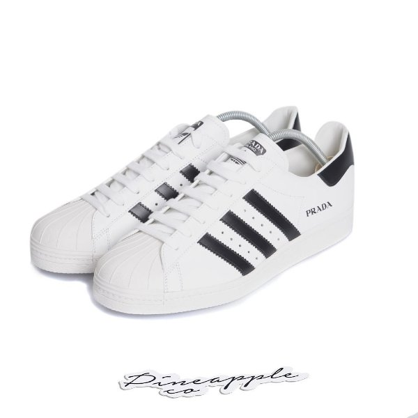 "ADIDAS x PRADA - Superstar ""White/Black"" -NOVO-"