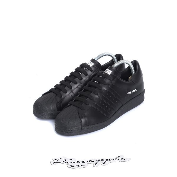"ADIDAS x PRADA - Superstar ""Black"" -NOVO-"
