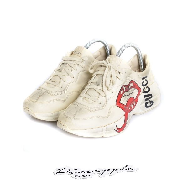 "GUCCI - Rhyton Mouth ""Ivory"" -USADO-"