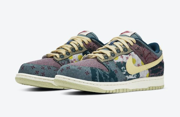 "NIKE - Dunk Low ""Community Garden"" -NOVO-"